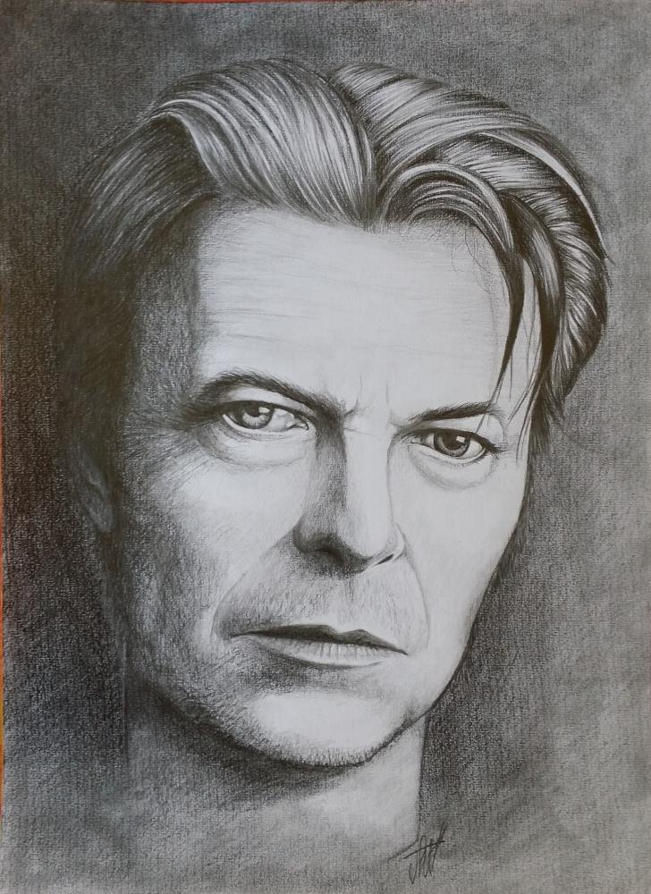 David Bowie by jeffcw
